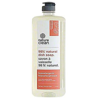 Nature Clean Mandarin Natural Dish Soap, 25 oz