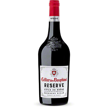 Cellier Des Dauphins Cotes Du Rhone Reserve Red , 750 mL