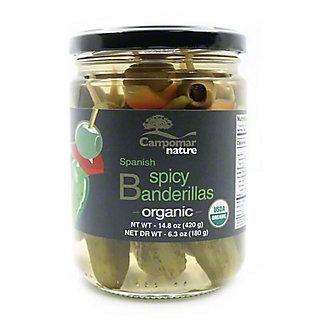 Campomar Nature Organic Spanish Spicy Banderillas, 14.8 oz