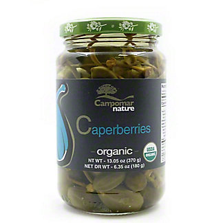 Campomar Nature Organic Caperberries, 13.05 oz