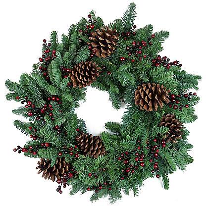 Berry Fresh Wreath, 24 in