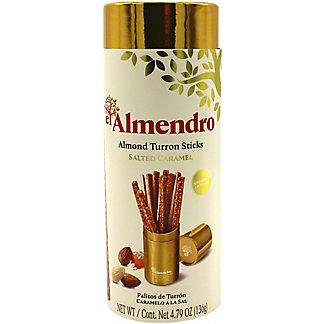 El Almendro Salted Caramel Almond Turron Sticks, 4.79 oz