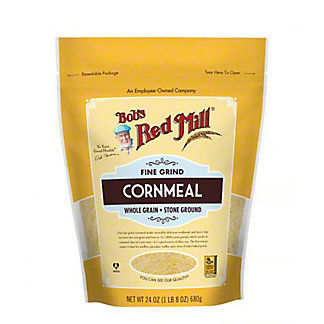 Bobs Red Mill Fine Grind Corn Meal, 24 oz