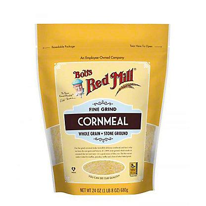 Bobs Red Mill Fine Grind Corn Meal, 24 oz