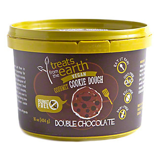 Sweets From The Earth Nut Free Double Chocolate Chip Cookie Dough, 454 gr