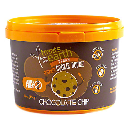 Sweets From The Earth Gluten Free Chocolate Chip Cookie Dough, 454 gr