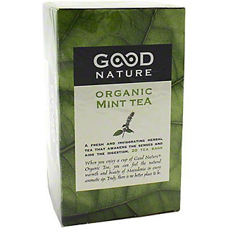 Good Nature Organic Mint Tea, 20 ct