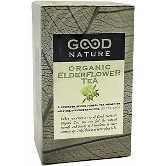 Good Nature Organic Elderflower Tea, 20 ct