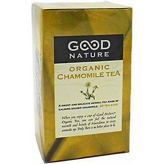 Good Nature Organic Chamomile Tea, 20 ct