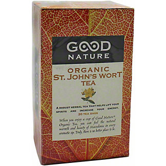 Good Nature Organic St. John's Wort Tea , 20 ct