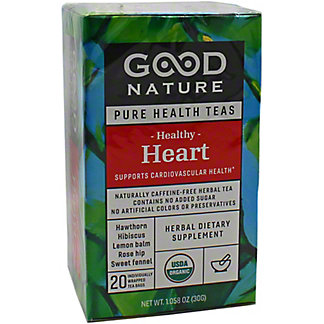 Good Nature Healthy Heart Tea, 20 ct
