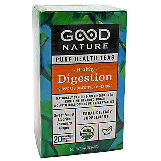 Good Nature Healthy Digestion Tea, 20 ct
