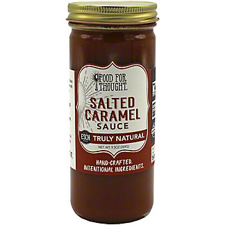 Food For Thought Hand Crafted Salted Caramel Sauce , 9.5 oz