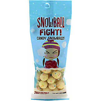 Amusemints Assorted Snowball Fight Candy SnowBalls, 2 oz