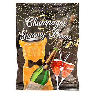 Amusemints Happy New Year Champagne Gummy Bears, 5 oz