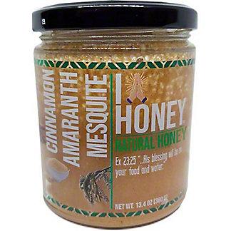 Honey Blossom Amaranth & Cinnamon Mesquite Honey, 13.4 oz