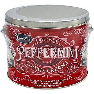 Bartons Cracked Peppermint Cookie Cream, 16 oz