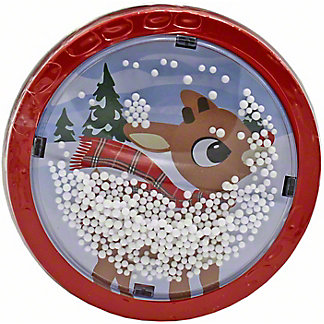 Rudolph Snow Globe Tin, 1.5 oz