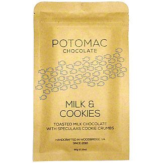 Potomac Chocolate Milk & Cookies Bar, 60 g