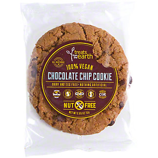 Treats From The Earth Nut Free Chocolate Chip Cookie, ea