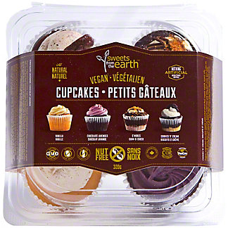 Treats From The Earth Nut Free Cupcake Assortment  4pk, 320 gr