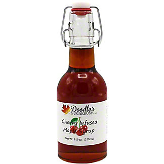 Doodle's Sugarbush Cherry Infused Maple Syrup, 8.5 oz