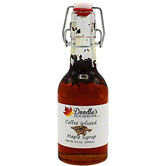 Doodle's Sugarbush Coffee Infused Maple Syrup, 8.5 oz