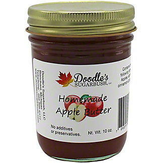 Doodle's Sugarbush Homemade Apple Butter, 10 oz
