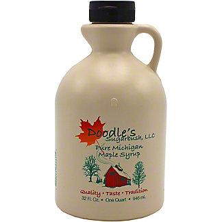 Doodle's Sugarbush Grade A Pure Michigan Maple Syrup, 32 fl oz