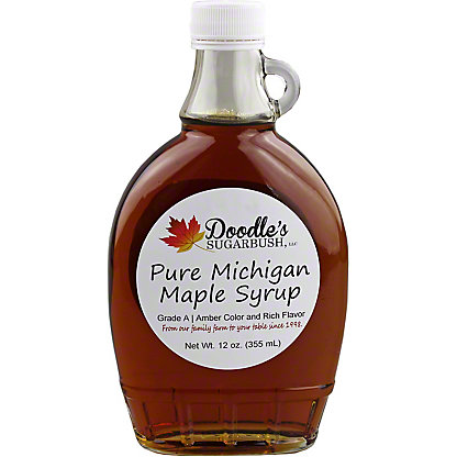 Doodle's Sugarbush Pure Michigan Grade A Maple Syrup, 12 oz