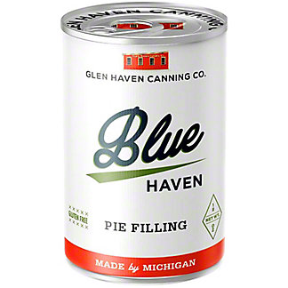 Glen Haven Canning Company Blueberry Pie Filling, 21 oz