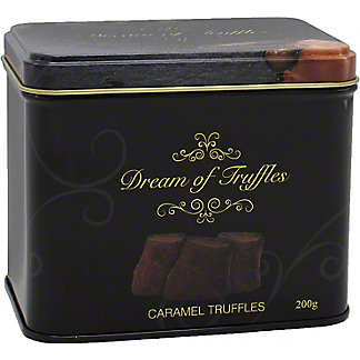 Dream Of Truffles Chocolate Truffles with Caramel, 7.05 oz