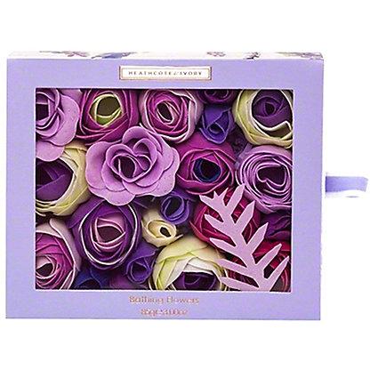 Heathcote & Ivory Lavender Fields Soap Flowers, 85 gr