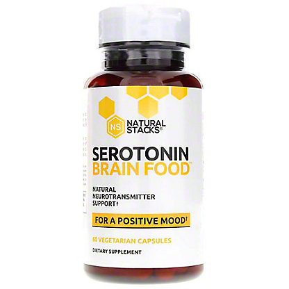 Natural Stacks Serotonin Brain Food, 60 ct