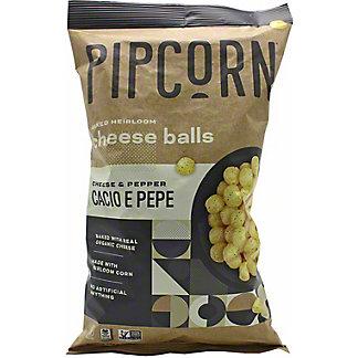 Pipcorn CacioePepe Heirloom Cheese Balls Cheese, 4.5 oz