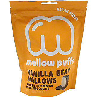 Baru Dark Chocolate Covered Vanilla Bean Mallow Puffs, 3.5 oz