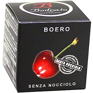 Bodrato Boero Pitted Dark Chocolate Cherries, ea