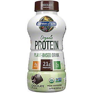 Garden Of Life Organic Chocolate Protein Plant-Based Drink, 11 oz