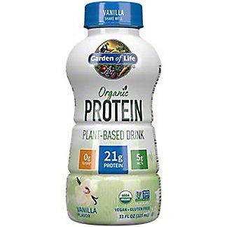 Garden Of Life Organic Vanilla Protein Plant-Based Drink, 11 oz