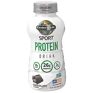 Garden Of Life Organic Chocolate Sport Protein Drink, 11 oz
