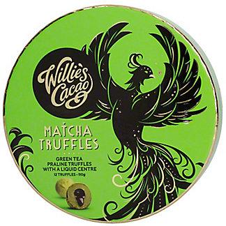 Willie's Cacao Matcha Truffles, 110 GR