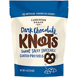 Carolwood Snack Co Dark Chocolate Knots, 4 oz