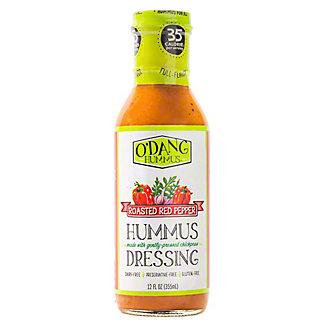 O'Dang Hummus Roasted Red Pepper Hummus Dressing, 12 oz