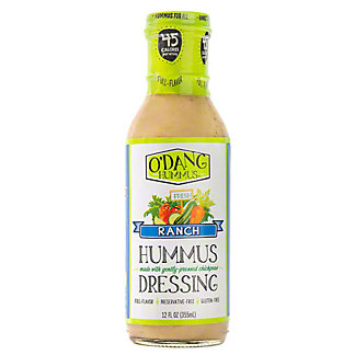 O'Dang Hummus Ranch Hummus Dressing, 12 oz