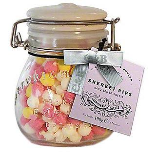 Cartwright & Butler Sherbert Pips Sweets Jar, 190 g, 6.7 oz