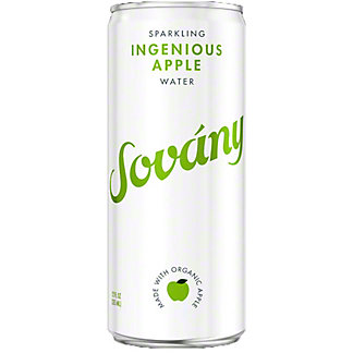 Sovany Ingenious Apple Sparkling Water, 12 oz