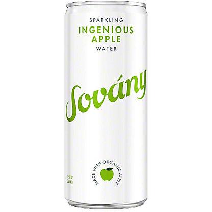 Sovany Ingenious Apple Sparkling Water, 12 oz