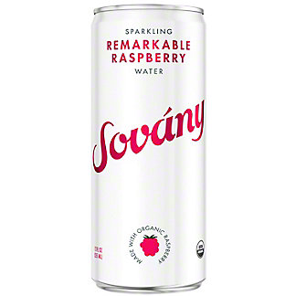 Sovany Remarkable Raspberry Sparkling Water, 12 oz