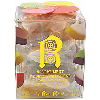 Le Roy Rene Butterfly Box Assorted Petits Calissons, 125 gr
