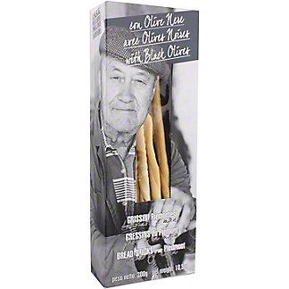 Casa Vecchio Mulino Grissini Breadsticks With Black Olives, 300 g